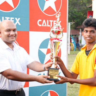 Caltex Deaf School Volleyball