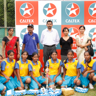 Caltex Deaf School sports