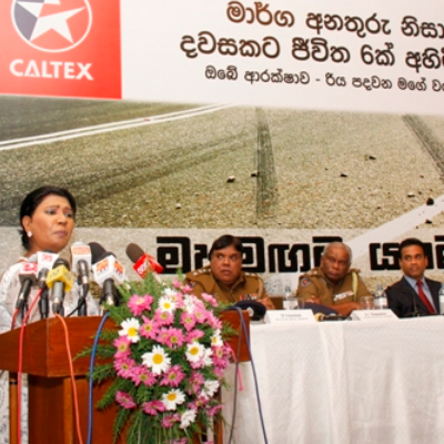 Caltex launch Road Safety Camp